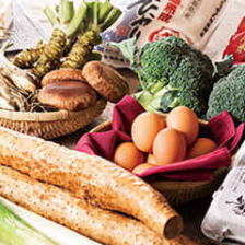 鳥取を代表する季節の旬野菜たち