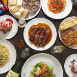 2大看板メニューと前菜が楽しめる『贅沢コース』