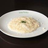 3種類のチーズのもち米リゾット