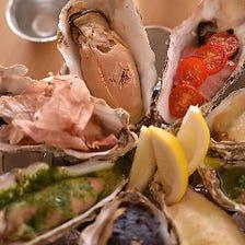 すすきの駅徒歩3分!産地直送の様々な海の幸、中でも日替わり牡蠣は生/焼き/トッピングなど種類豊富!