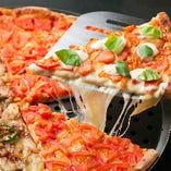 1ピースから注文OK!もちもち絶品ピザの定番はマルゲリータ