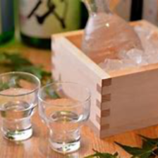 こだわりの日本酒も充実。