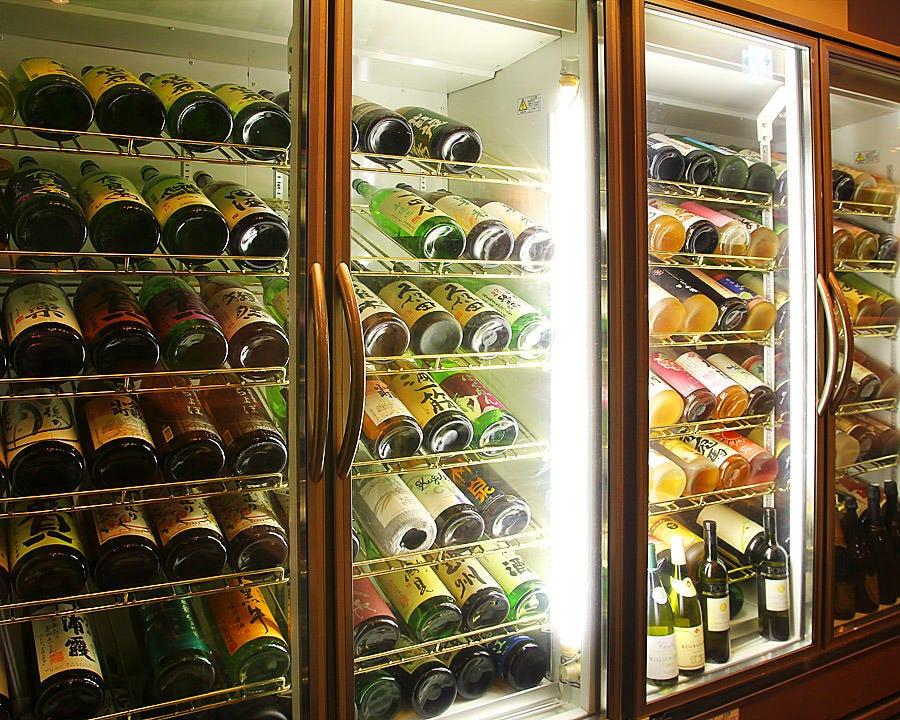 全国から集めたお酒の数は倉敷No.1