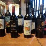 ワインはかぶ飲みからオーガニックまで、種類豊富に取り揃えております!