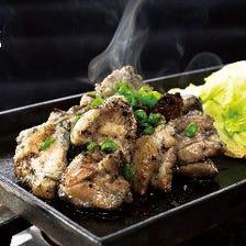 指定養鶏場から仕入れる食材