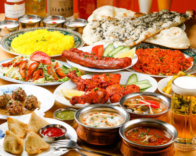 インド料理 マナカマナ 国立店 コースの画像