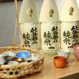 当店おすすめの『石川県能登 竹葉』。世界的に評価された味わい深さを是非喝采で!