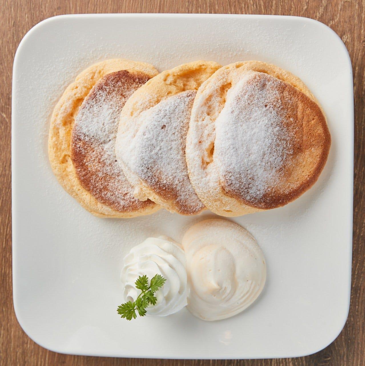 【パティシエ】が作る本格パンケーキ