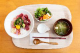 まぐろ鉄火丼(ミニサラダ、青さの味噌汁付き)