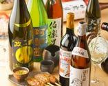 日本酒や焼酎も豊富に用意しております