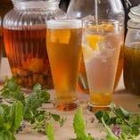 酵素酎ハイ、酵素ハイボールなど、アルコールでも酵素ドリンクをお楽しみいただけます!