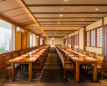 桜・つつじ・桔梗 テーブル(14名×4) 完全個室  41名-56名迄