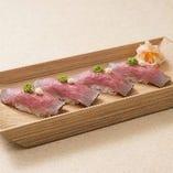 ローストビーフのお寿司