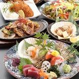北海道の旨い物に瀬戸内や日本海の食材も取り扱ってます