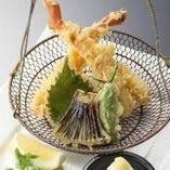 生ずわい蟹の天婦羅