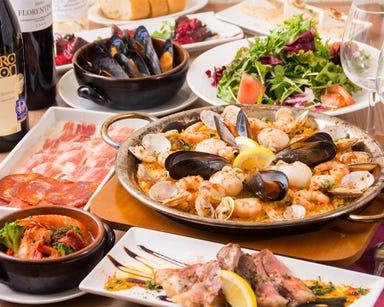 スペイン料理&ワイン LOBOS 銀座店 コースの画像
