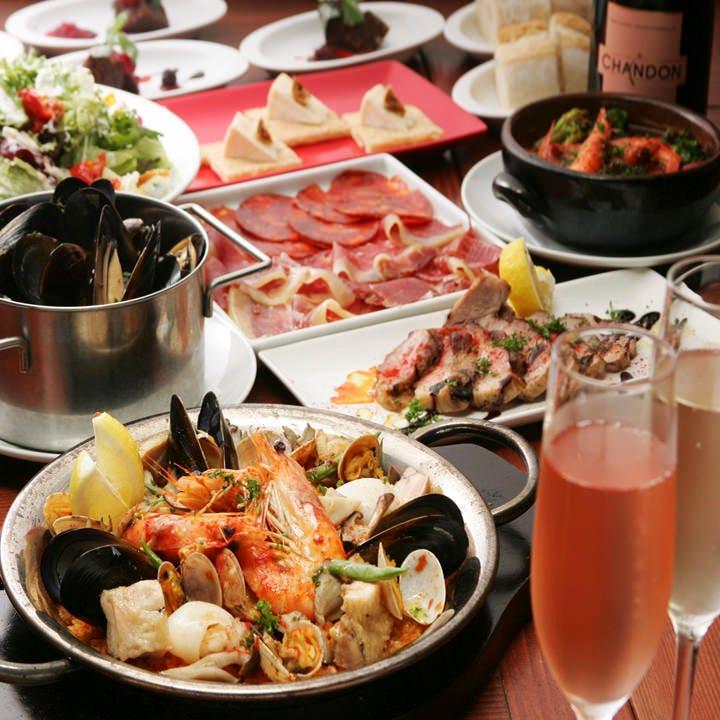スペイン宴会パーティープラン