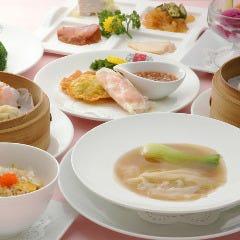"""""""Chefのおすすめ"""" 飲茶コース(レディースランチ)【全9品】"""