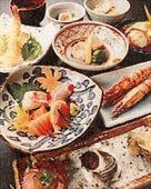 コースは2980円~旬鮮魚を堪能!