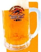 まずは生ビールで乾杯!!!