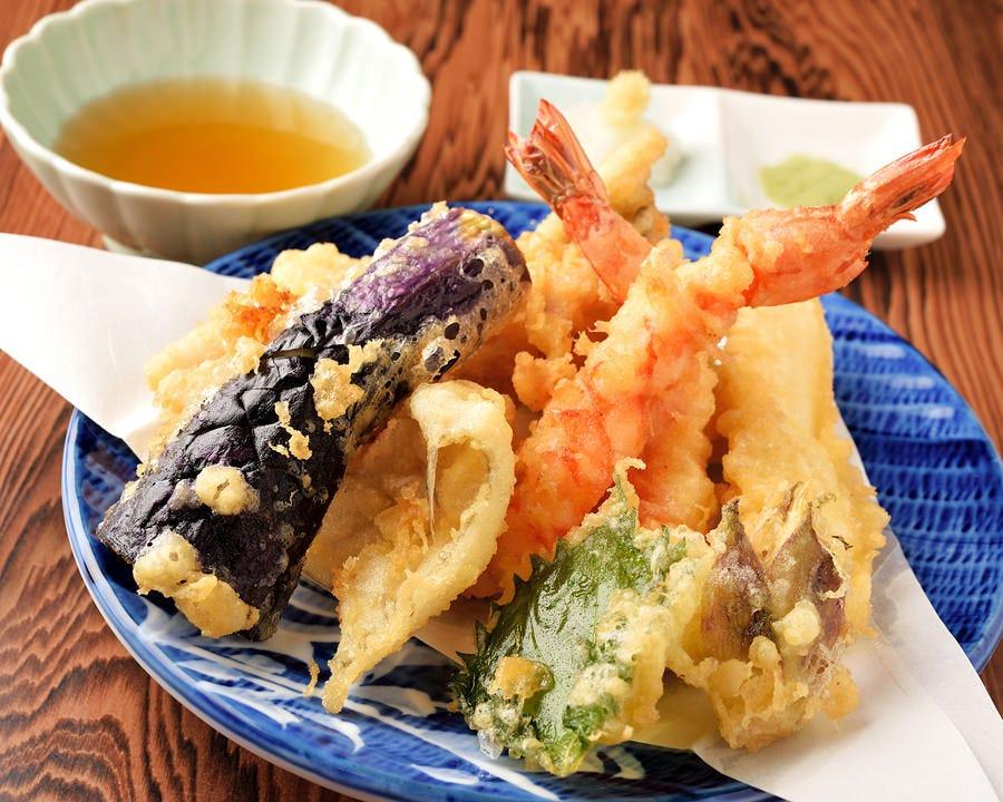 人気の天ぷら料理