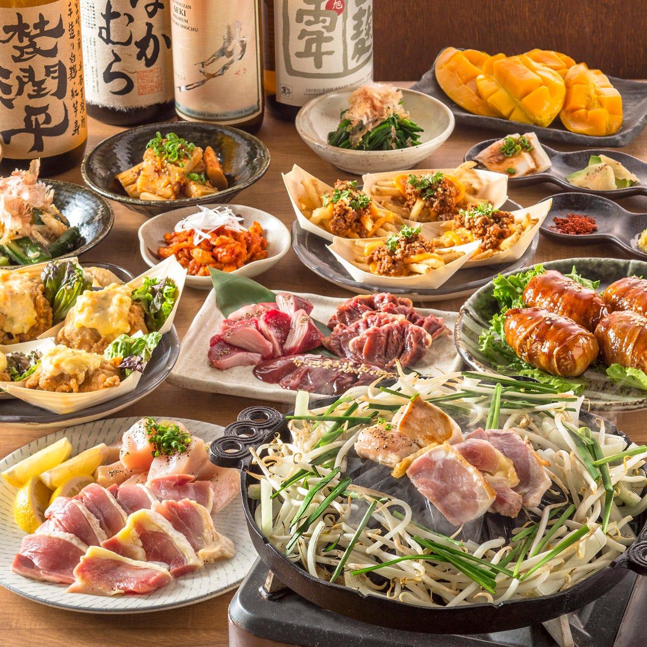 今年のイチ推し! 肉!肉!まんぷくコース 5000円