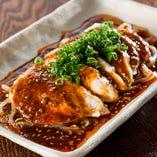 【低温調理】地鶏のよだれ鶏 特性麻辣醤油ダレ