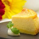 ソラアオさん特製 白鹿大吟醸入りチーズケーキ