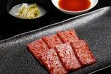 長年の目利きで肉を知り尽くした同店ならではの逸品。