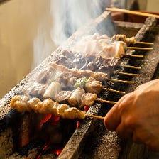 炭火で丁寧に焼き上げる本格串焼き