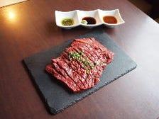 「絶品国産牛のハツステーキ」