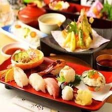 《豪華寿司宴会》四季の鮨尽くし