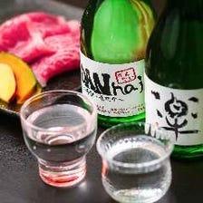 各地の日本酒×厳選食材の逸品
