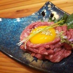 oumiushi 赤身炙りユッケ
