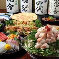 和牛もつ鍋は当店一番人気です!