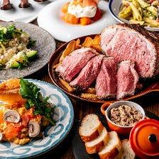 新鮮な食材を使用した魅惑のお料理