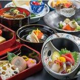 北海道の食材を和の料理人が匠の技で素材を最大限引き出します。