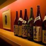 綿屋・朝日栄・十四代など定番地酒と日替り酒で約30種類ご用意