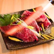 近江牛特上炙り寿司