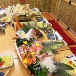 【コースのおすすめ:其の参】肉だけでなく、海鮮料理も楽しめます◎