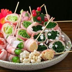 くるり。野菜巻串と串揚げの店