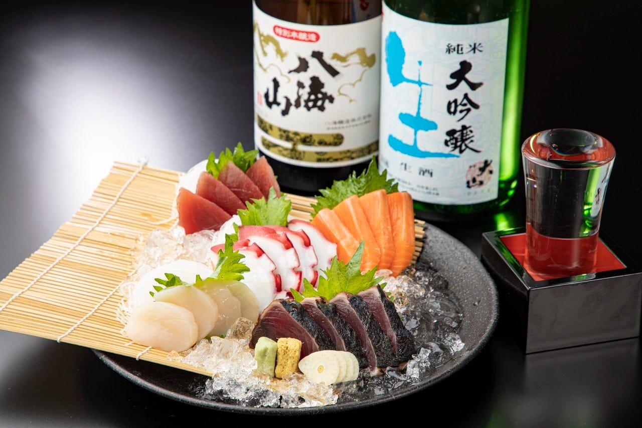 季節の旬の鮮魚をお届け!