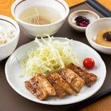 宮城豚 網焼きカルビ定食