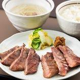 仙台牛タンと厚切り牛タンミックス定食