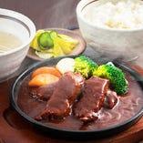 仙台牛タンシチュー定食