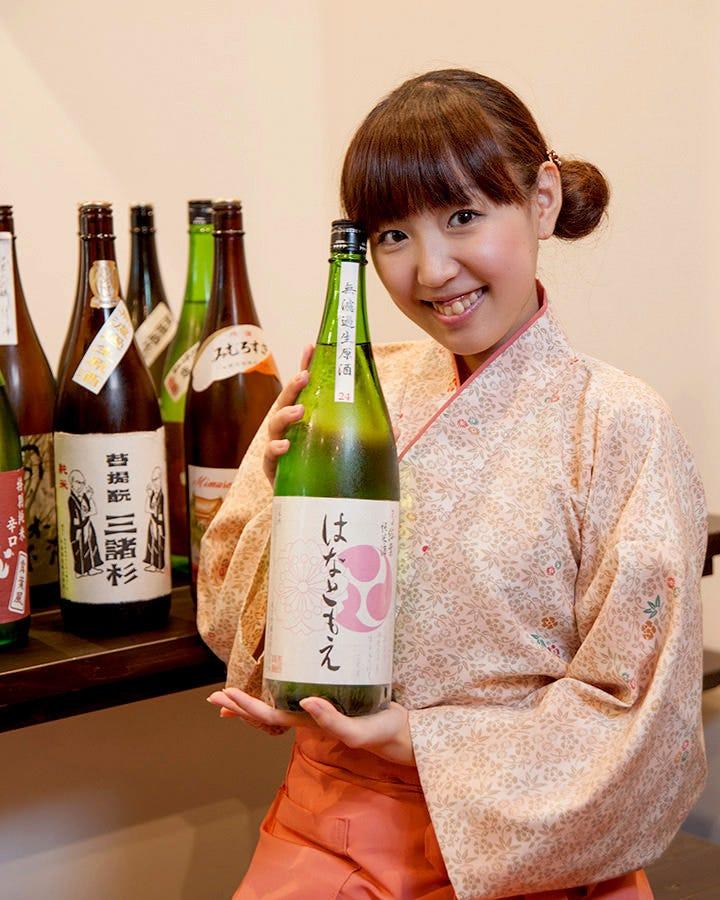 奈良の食材や地酒が味わえるのがKURA