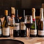 記念日や接待に◎ワインやシャンパンをボトルで