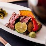 国産牛フィレ肉には赤ワインがおすすめ