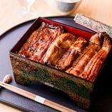 宮崎産の鰻を使用した鰻重は絶品