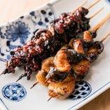 鰻串焼き各種